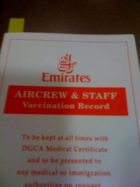 Waiting to check vaccination validyy